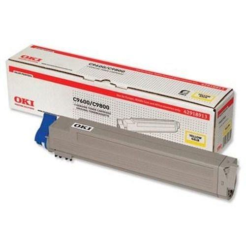 Заправка картриджей OKI для принтера OKI C9600 / C9800 - yellow
