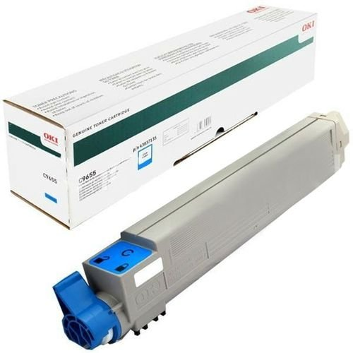 Заправка картриджей OKI для принтера OKI C9655 - cyan