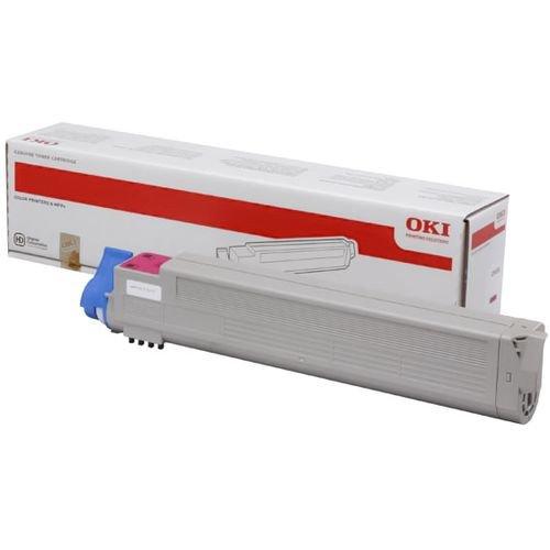 Заправка картриджей OKI для принтера OKI C9655 - magenta