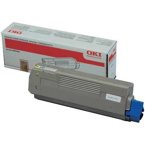 Заправка картриджей OKI для принтера OKI C9655 - yellow