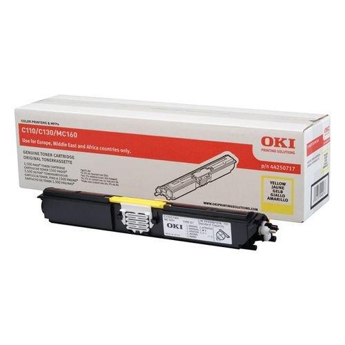 Заправка картриджей OKI для принтера C110 / C130 / MC160 - yellow