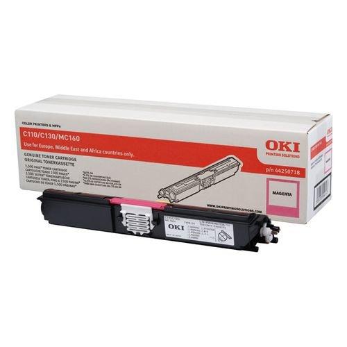 Заправка картриджей OKI для принтера C110 / C130 / MC160 - magenta