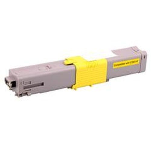 Заправка картриджей OKI для принтера c301 / c321/ mc332 / mc342 - yellow