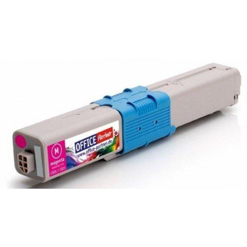 Заправка картриджей OKI для принтера c301 / c321/ mc332 / mc342 - magenta