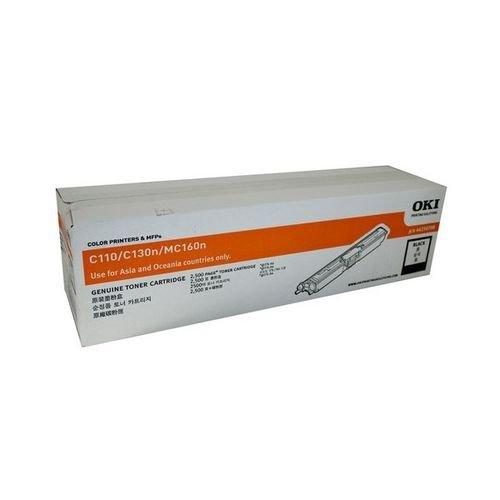 Заправка картриджей OKI для принтера C110 / C130 / MC160 - black