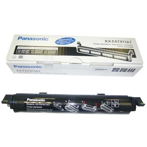 Заправка картриджа Panasonic KX-FAT411A7 для принтера KX-MB1900 / 2000 / 2020 / 2030