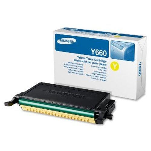 Заправка картриджа SAMSUNG CLP-660A (yellow) для принтера CLP-610ND / CLP-660N / CLP-660ND / CLX-6200FX / CLX-6200ND / CLX-6210FX / CLX-6240FX