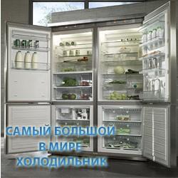 Самый большой в мире холодильник