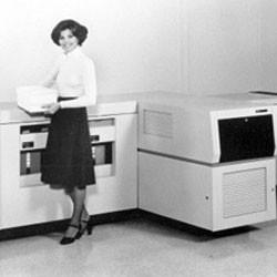 Появление первого лазерного принтера