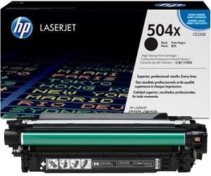 Картридж HP CE250X (504X)