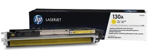 Заправка картриджа CF352A (130A) для принтера yellow hp color lj m176n/ m177fw